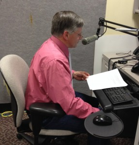 Senator Chris Johnson delivers the weekly radio address
